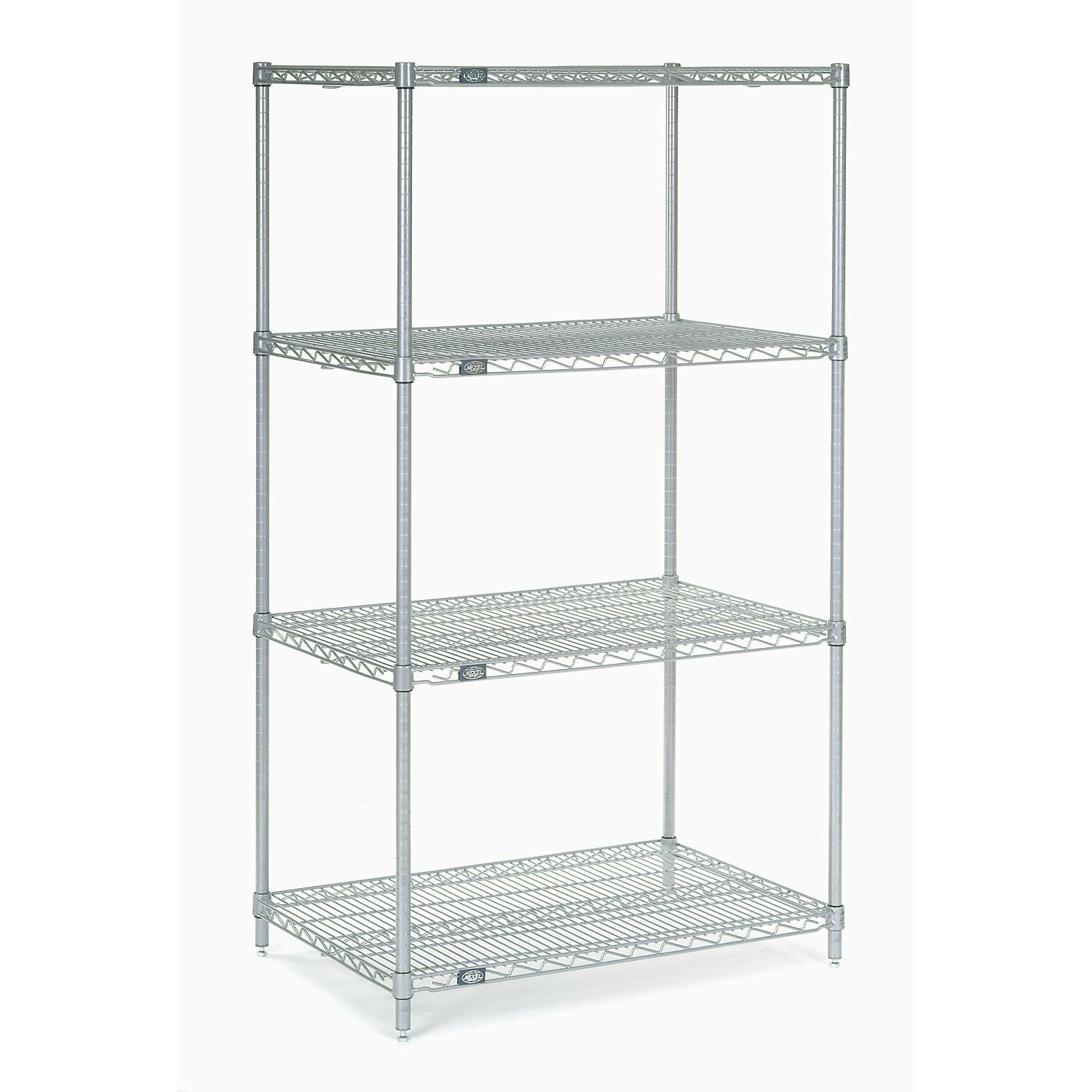 Chrome Wire Shelving 30W x 21D x 63H