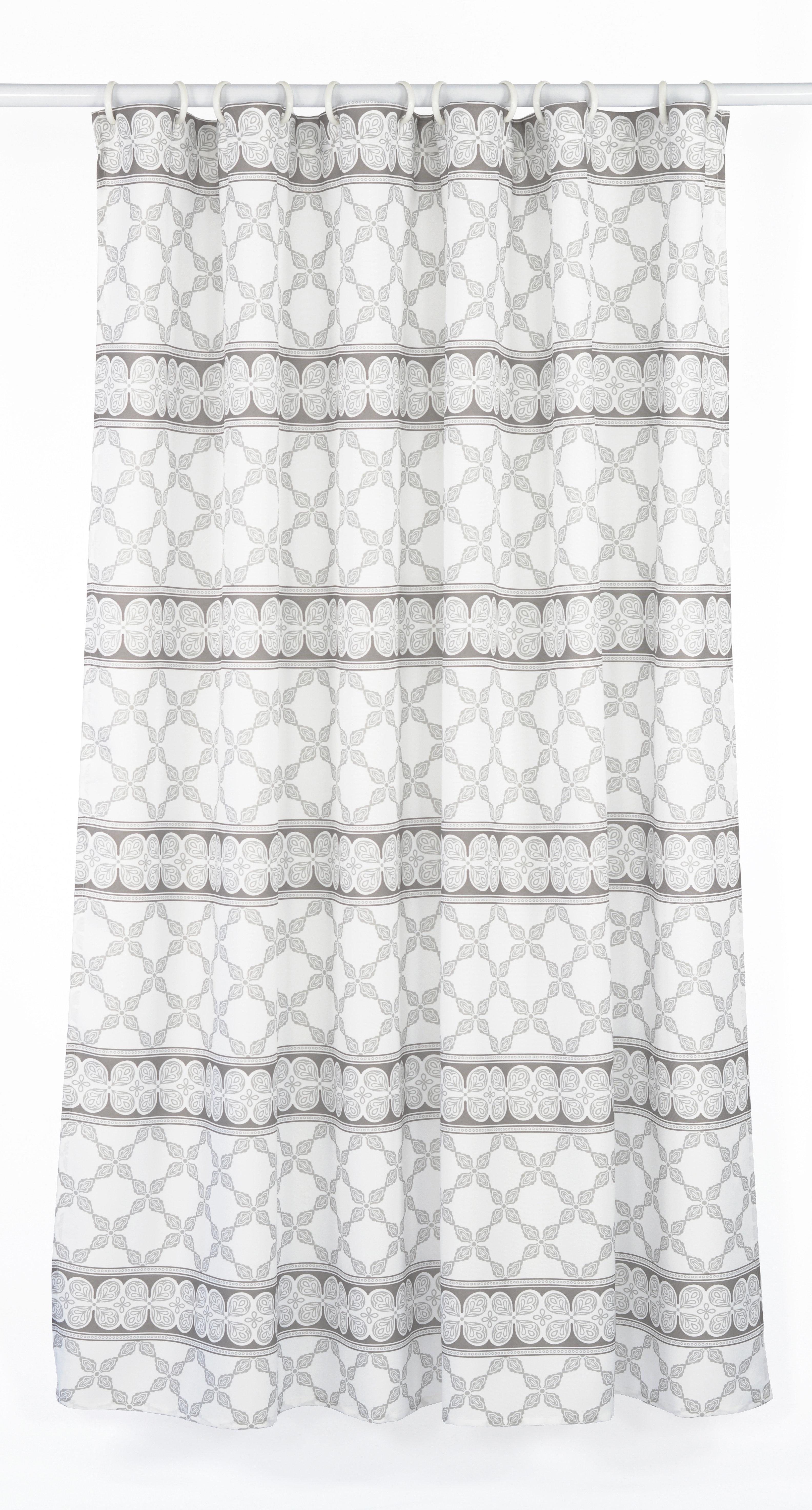 LJ Home Vogue Line Design Shower Curtain Set & Reviews   Wayfair
