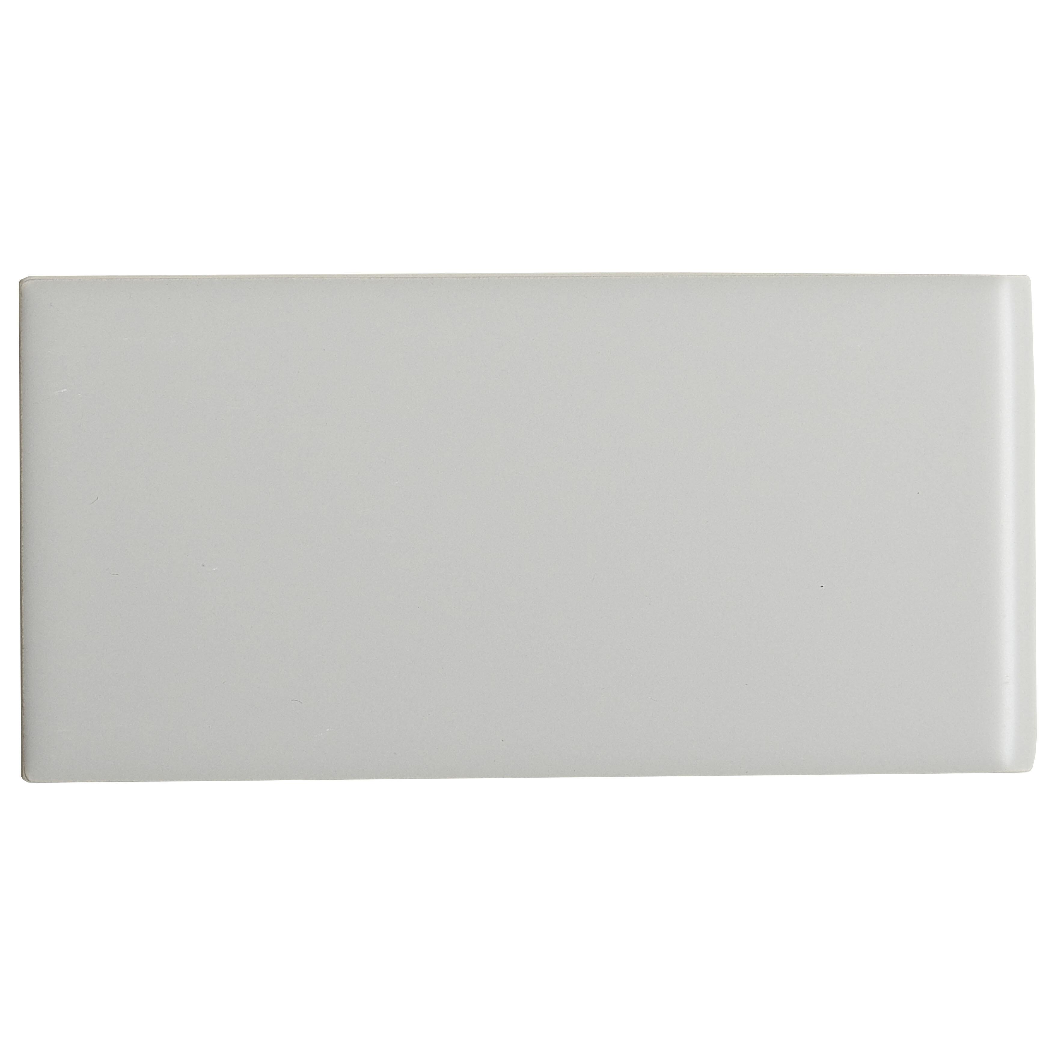 Itona Tile Guilford 6 X 3 Ceramic Bullnose Tile Trim In Gray Wayfair