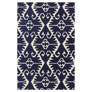 Kouerga Royal Blue/Ivory Rug
