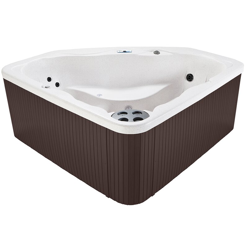 FuturaSpas 6-Person 88-Jet Spa with Lounger and Stainless Jets ...