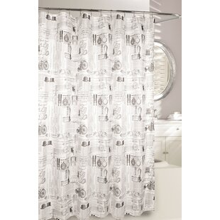 Invention Fabric Shower Curtain By Moda At Home