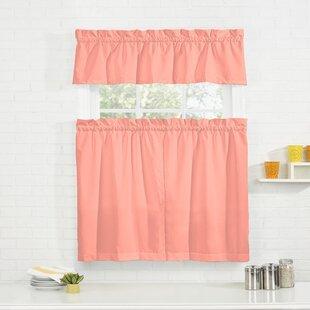 Kitchen Pink Valances U0026 Kitchen Curtains