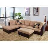 Camoya 103.5'' Modular Sofa & Chaise with Ottoman by Latitude Run®