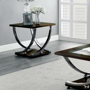 Bloomsdale Contemporary Wooden End Table
