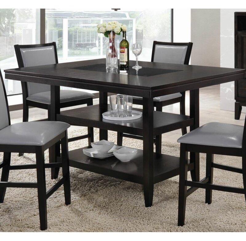 Red Barrel Studio Ashton Counter Height Dining Table Reviews Wayfair