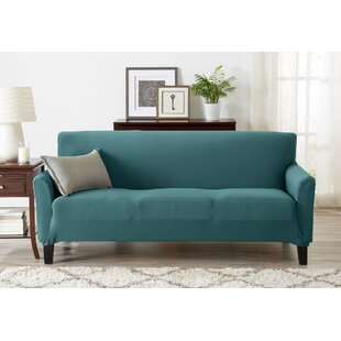 Super Soft Jersey Knit Box Cushion Sofa Slipcover