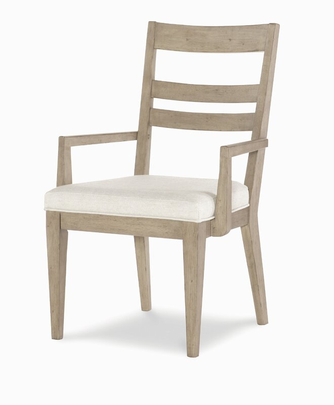 Amina Slat Back Upholstered Dining Chair Set Of 4 By One