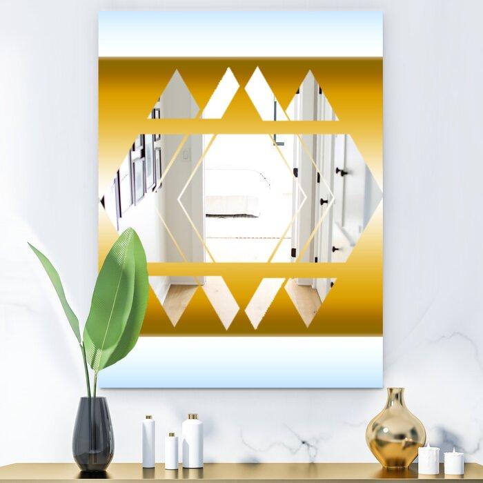 East Urban Home Capital Essential Decorative Modern Glam Accent Mirror Wayfair