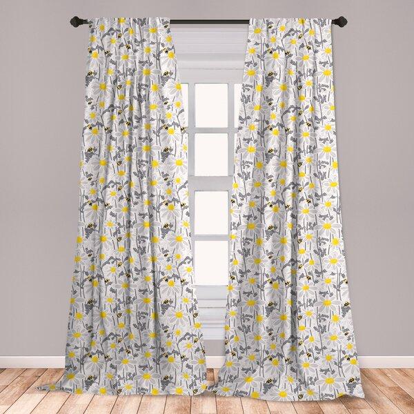 Bee Curtains Wayfair
