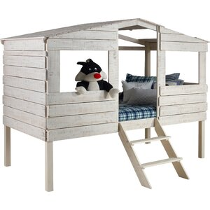 Tree House Twin Low Loft Bed