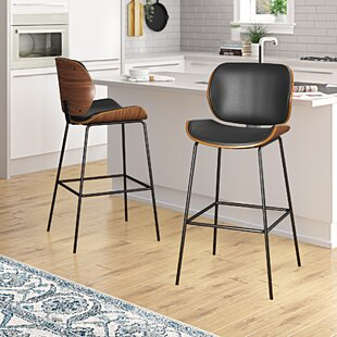 Theophila 42 Bar Stool (Set of 2) Brayden Studio
