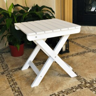 Adirondack Square Folding Side Table