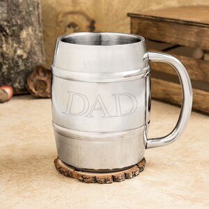 Dadu2019s Stainless Steel Keg Mug