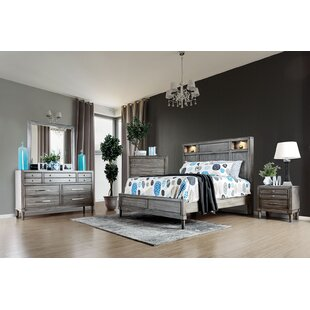 Medau Sleigh Configurable Bedroom Set