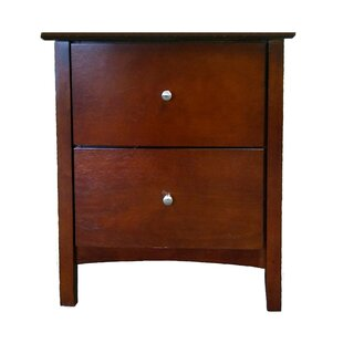 Dighton 2 Drawer Nightstand by Winston Porter