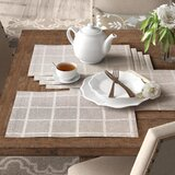 Julie 18 Linen Placemats (Set of 6) byBirch Lane™ Heritage