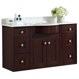 Kester 48 Rectangle Wood Single Bathroom Vanity Set by Darby Home Co