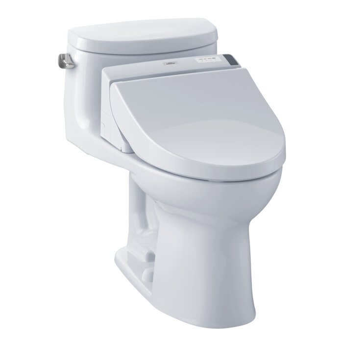 Toto Supreme 1.28 GPF Elongated One-Piece Toilet | Wayfair.ca