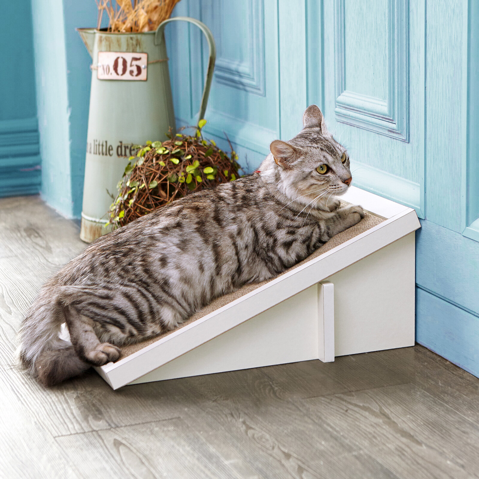 Small White Cat Scratchers Scratching Posts You Ll Love In 2021 Wayfair