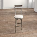 Margueritte Swivel Bar & Counter Stool by Kelly Clarkson Home