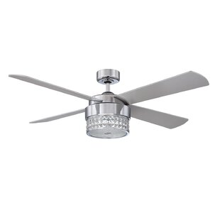 52 Cason 4-Blade Ceiling Fan with Wall Remote