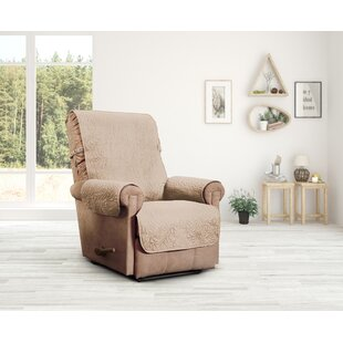 Outstanding Belmont Leaf Secure Fit Recliner Furniture Slipcover Andrewgaddart Wooden Chair Designs For Living Room Andrewgaddartcom