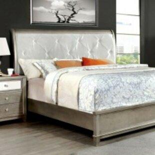 Barela Modern Upholstered Platform Bed