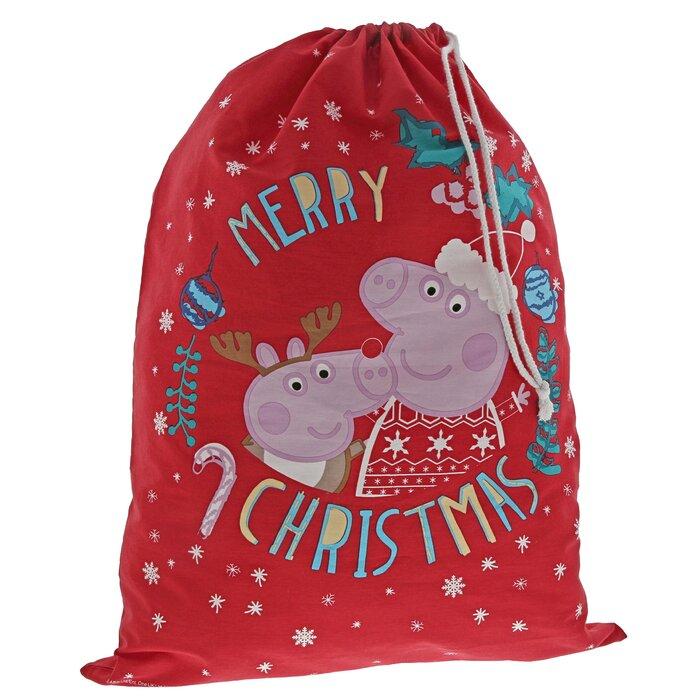 Christmas Pig.Peppa Pig Christmas Sack
