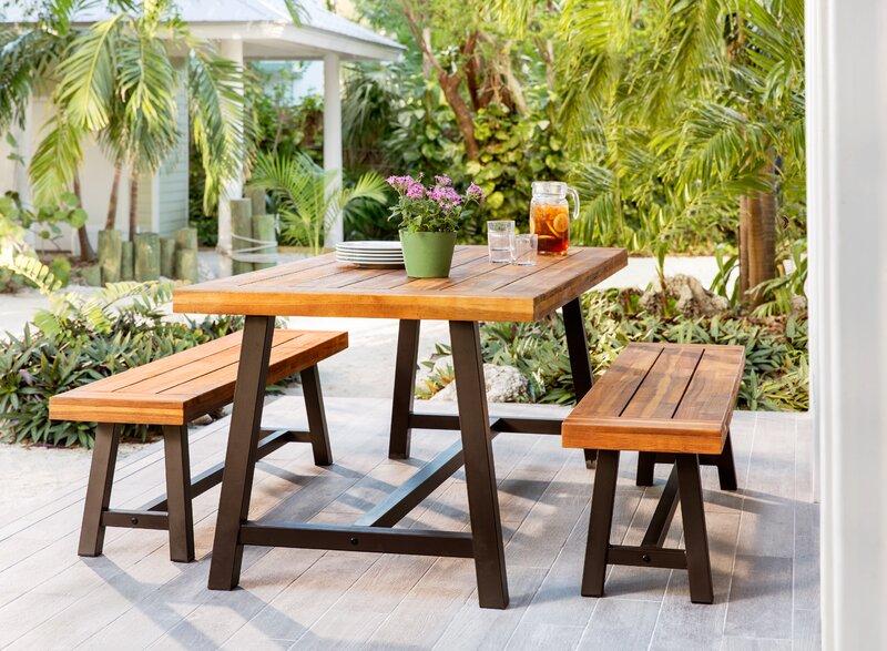 Trent Austin Design Bartlesville 3 Piece Dining Set Reviews Wayfair