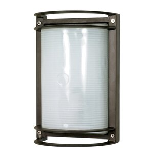 Great Price Marlana 1-Light Outdoor Flush Mount By Williston Forge