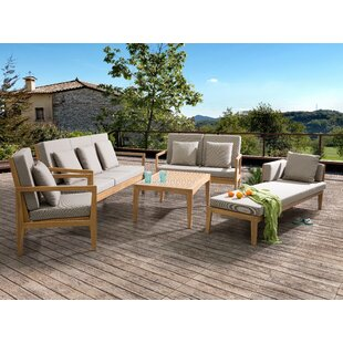 Austinburg 5 Piece Sofa Seating Group with Cushions