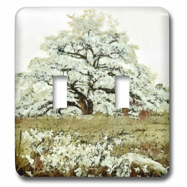 3drose Dogwood Tree 2 Gang Toggle Light Switch Wall Plate Wayfair