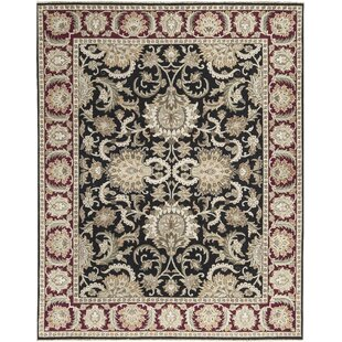 Online Reviews One-of-a-Kind Handwoven Wool Black/Red/Beige Indoor Area Rug By Bokara Rug Co., Inc.