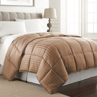 Stripe Reversible Down Alternative Comforter