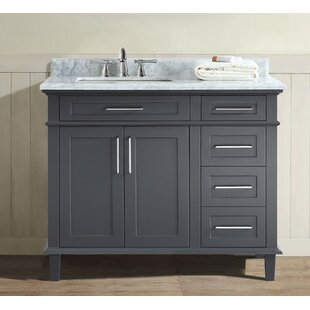 Superbe Charcoal Grey Vanity | Wayfair