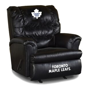 Nhl Big Daddy Leather Manual Recliner Imperial International