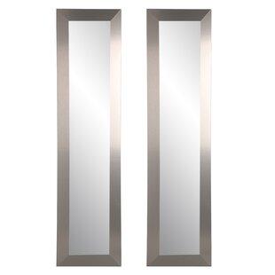 Orren Ellis Arterburn Full Length Mirror (Set of 2)