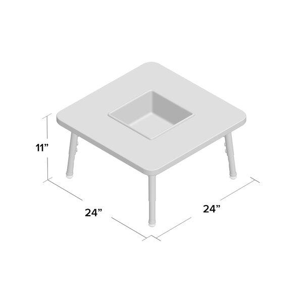 Jonti Craft 24 Adjustable Height Square Activity Table Wayfair