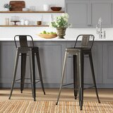 Fawcett Bar & Counter Stool (Set of 2) by Birch Lane™ Heritage