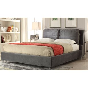 Espinoza Upholstered Platform Bed by Latitude Run 2019 Sale