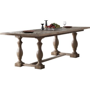 Janae Trestle Dining Table Ophelia & Co.