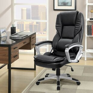 Higdon Executive Chair by Symple Stuff Coupon