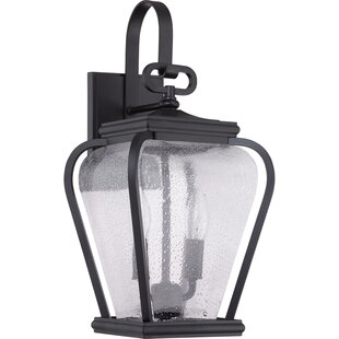 Coupon James 2-Light Outdoor Wall Lantern By Red Barrel Studio