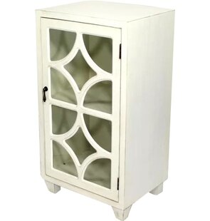 Wooden Accent Cabinet with 1 Door by Heather Ann Creations