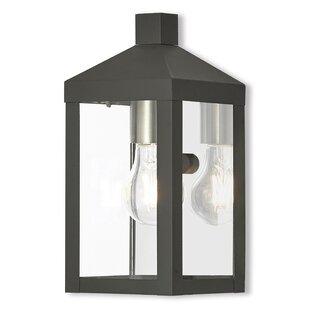 Best Demery LED Outdoor Wall Lantern By Mercury Row