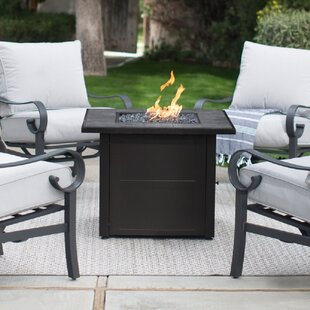 Uniflame Steel Propane Fire Pit Table