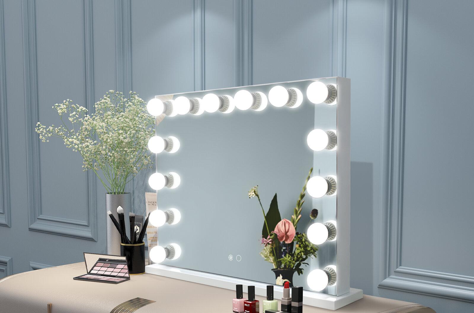 Rosdorf Park Large Vanity Makeup Mirror