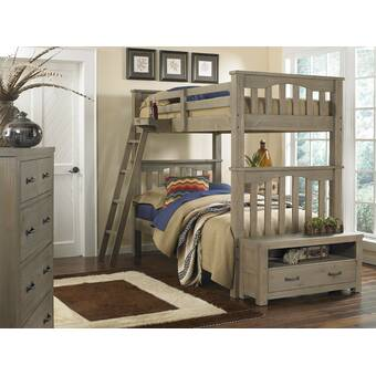 Bedlington Twin Over Full Bunk Bed With Trundle
