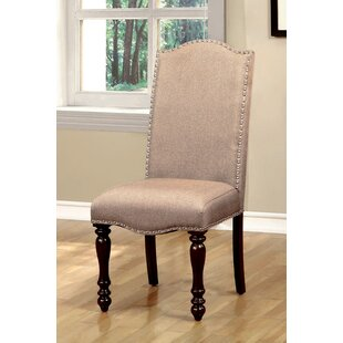 Hiram Upholstered Dining Chair (Set of 2) Alcott Hill